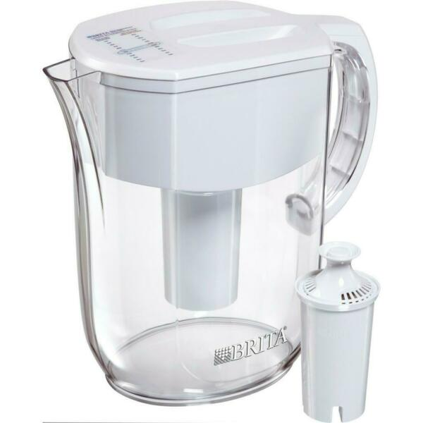 Brita Everyday Water Filter Pitcher with Filter 10 Cup 6025836205 White