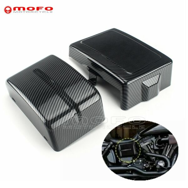 ABS Carbon Battery Side Cover For Harley Dyna 2006 2017 Low Rider FXDL Fat Bob $65.96