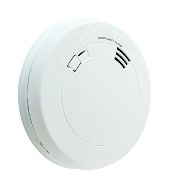 First Alert Battery Powered Electrochemical Photoelectric Smoke Carbon Detector $59.95