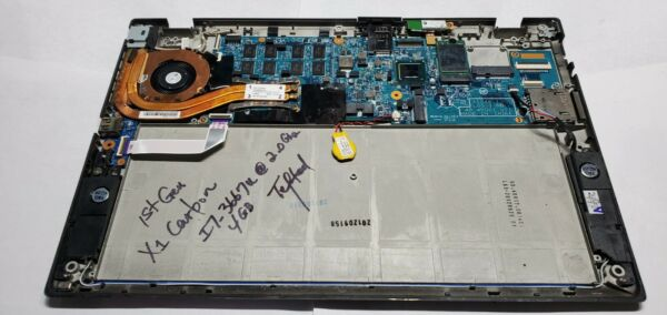 Lenovo X1 Carbon 1st Gen Intel i7 3667U 2.0GHz 4GB Motherboard 04X3895 Non Touch $75.00