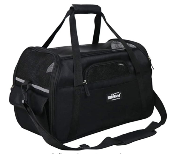 EliteField Soft Sided Pet Carrier 3 Year Warranty Airline Approved Multiple $29.99