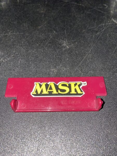 M.A.S.K 1985 RHINO Roof Cover Mask Kenner Accessory Part $40.00