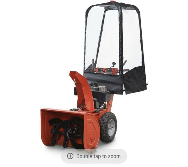 Guide Gear Snow Blower Cab Item 225039 fits Single amp; Two Stage Snow Blowers