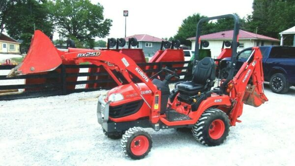 2009 Kubota BX25 TLB Pkg. 4x4 Mid Mt Ldr 385 Hr FREE 1000 MILE DELIVERY FROM KY
