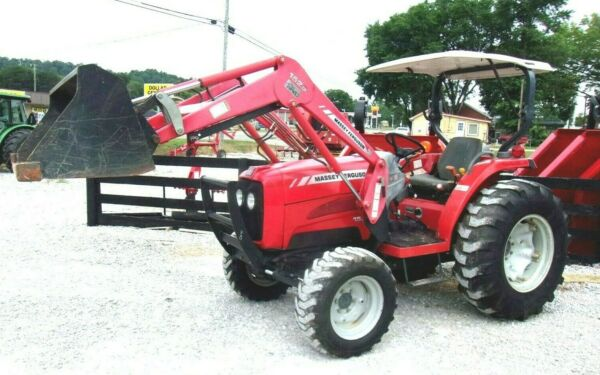 2008 Massey Ferguson 1533 4x4 Loader 1051 Hrs *FREE 1000 MILE DELIVERY FROM KY $19800.00