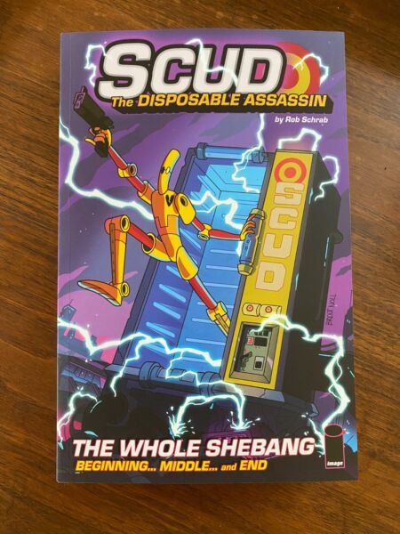Scud: The Whole Shebang 6th Printing Signed by Rob Schrab $40.00