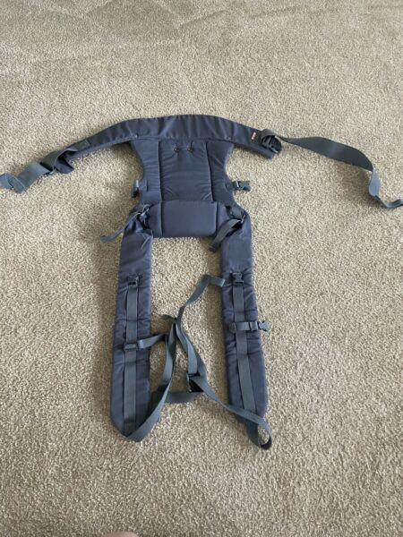 Beco Gemini Baby Carrier 4 in 1 Carry Positions 7 35 lbs Front Back Hip Gray $24.85