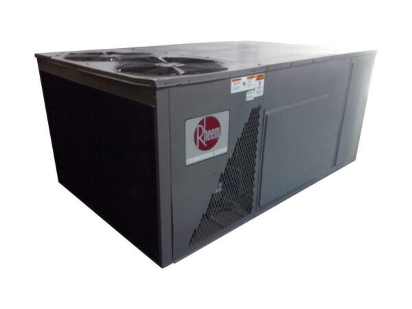 RHEEM Used Central Air Conditioner Commercial Package RLNL B102CL ACC 15456 $3049.87