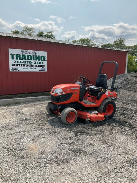 2015 Kubota BX2660 4x4 Hydro 26Hp Compact Tractor w 60quot; Mower amp; Front Blade