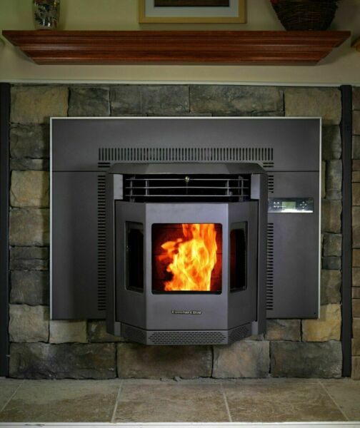 ComfortBilt HP22I Pellet Stove Fireplace Insert with a 47 lbs. Hopper 2800 sq.ft $1900.00