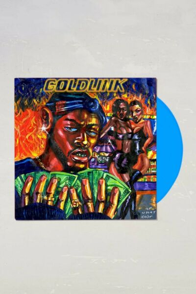GoldLink At What Cost 2XLP Limited Blue Vinyl Record Album New $59.99