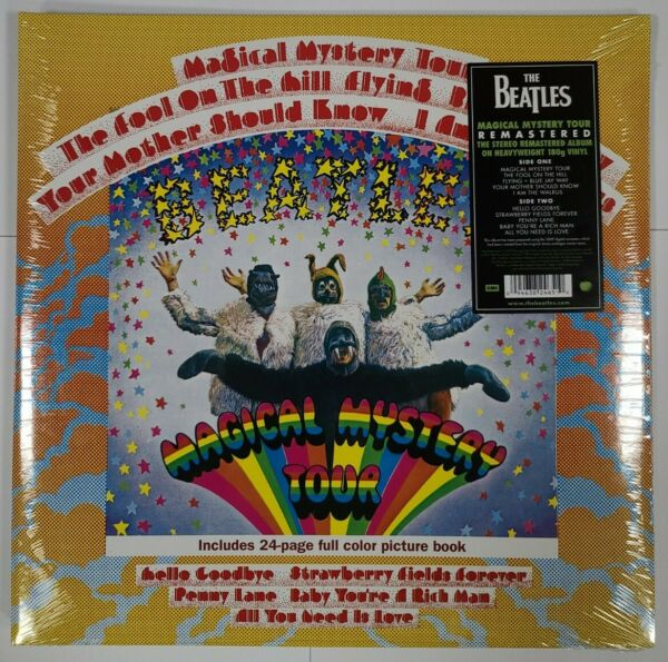 The Beatles – Magical Mystery Tour 180g LP Vinyl Record NEW Sealed