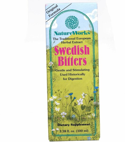 Liquid Swedish Bitters Extract by NatureWorks 3.3 oz