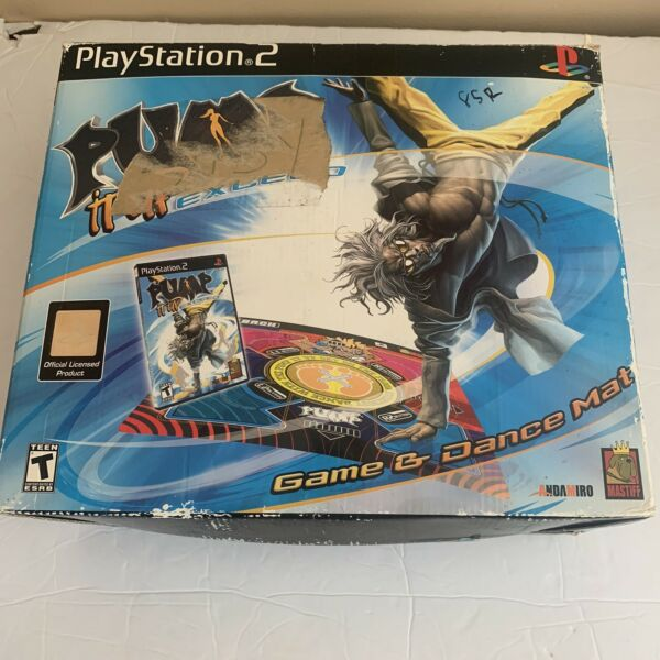 PS2 Pump It Up Exceed Dance Mat for Sony PlayStation 2 Dancing Play Fun $84.95