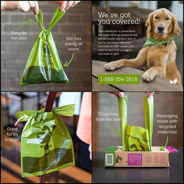 Earth Rated Dog Poop Bags 120 Extra Thick and Strong Dog Bags $9.74
