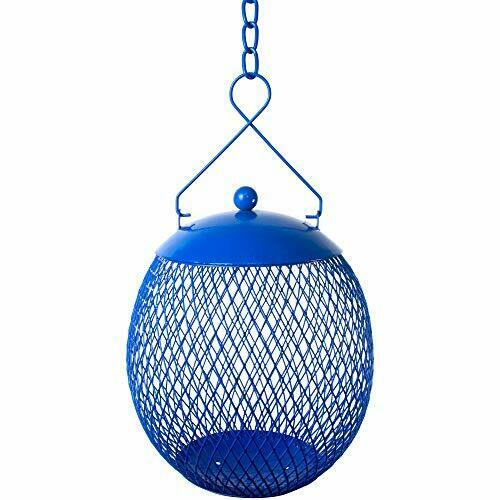 Bird Feeder Hanging Ball Metal Feeders For Outdoors Best With Sunflower amp; Wild B $23.06