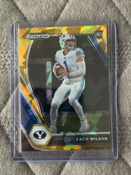 2021 Prizm Draft Picks Silver Green Gold amp; Red Cracked Ice Parallel Autos $1.10