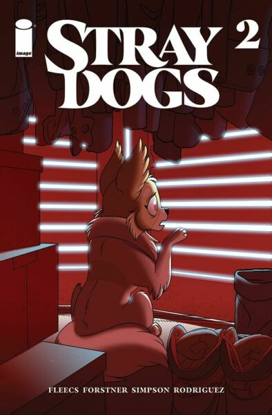 STRAY DOGS #2 2nd PRINTING NM IMAGE COMICS OPTIONED $8.99