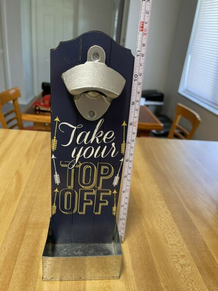 """""""Take Your Top Off"""" Wall Mounted Bottle Opener. New And Free Shipping Funny $12.00"""