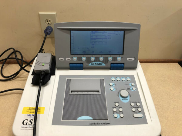 GSI Tympstar Version 2 Clinical Tympanometer with NEW Calibration Certificate
