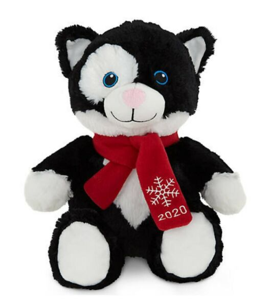 NWT Petsmart 2020 Squeaky Stuffed Plush Kid Pet Dog Toy Large 16quot; Lucky the Cat $8.25