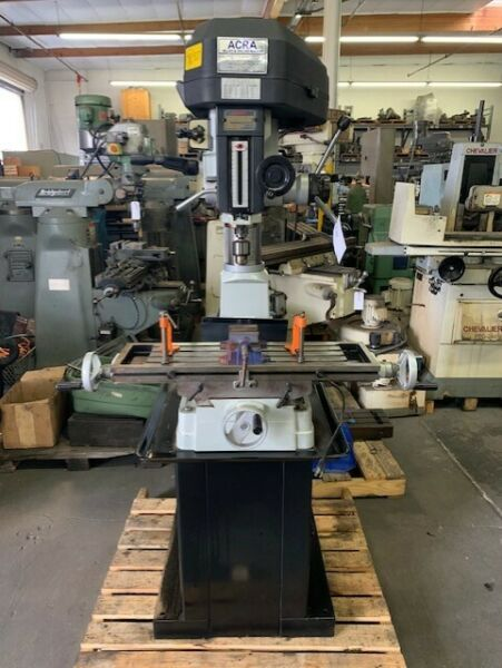 ACRA RF31 Step Pulley Mill Drill with Stand $1899.00