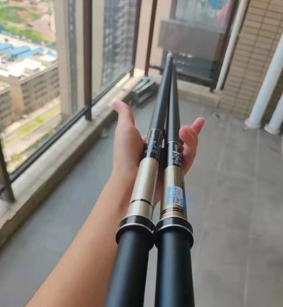 Japanese gamma fishing rod. 8.1m long. Carbon material. Second hand is flawless $73.25
