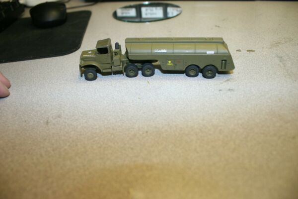 US Army 5 ton Tractor 6x8 w 5000 gal gasoline Roco ho 1 87 painted $10.00