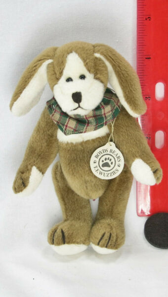 Boyds Bear TF Wuzzies Foley Dog Tall Retired Stock New with Tag $18.98