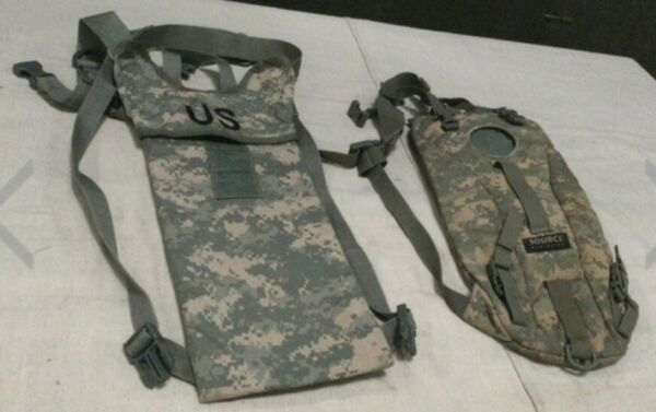 Multicam Hydration Backpack Water Carrier System Army 100oz Pack No Bladder $11.95