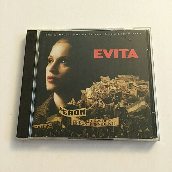 Evita The Complete Motion Picture Soundtrack 2 CD 1996 Madonna Various BMG