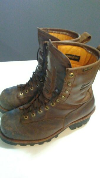 Chippewa 73103 Lace To Toe Logger Boots 11W Very Good