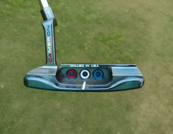 CUSTOM Scotty Cameron Special Select Newport TORCHED Blue Ryder Cup ed. JYD Dog