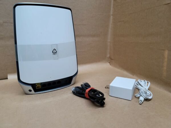 NETGEAR ORBI RBR850 ROUTER ONLY TRI BAND WI FI 6 MESH AX6000 EXCELLENT