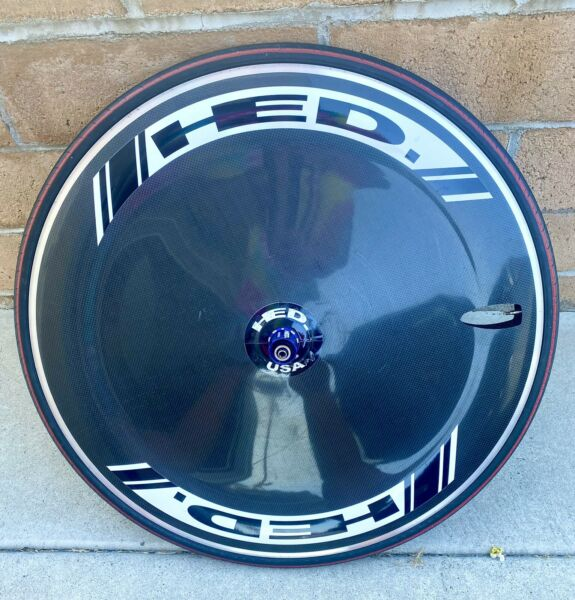 HED Jet Disc Carbon 700C Clincher 10speed Shimano SRAM Compatible Rear Wheel $995.00