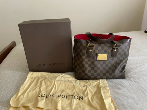 AUTHENTIC Louis Vuittons Hampstead MMDamier. Comes with box and dustbag. $1100.00