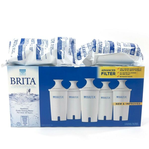 Brita Pitcher Filters Replacement Lot of 7 Item # 987554 Individually Sealed