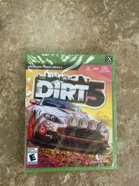 DiRT 5 Brand New Sealed Microsoft Xbox One Series X Free Shipping $20.50