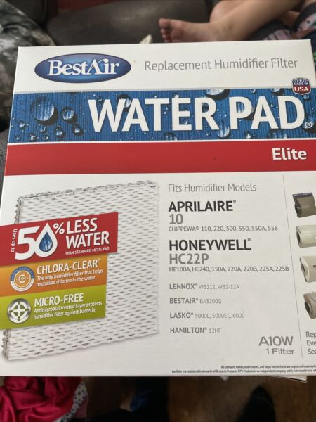 BestAir Pro A10W Furnace Humidifier Filter For Two Of Them $20.00