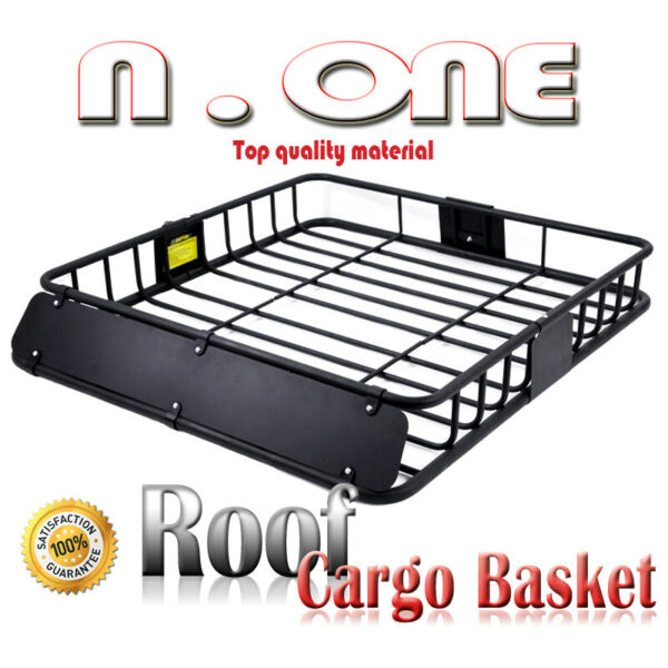 Universal Rooftop Rack Luggage Basket Cargo Carrier Storage Fairing For Toyota $132.87