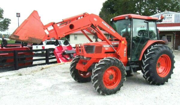 Kubota M9000 4x4 Loader One Owner 2122 Hrs. **FREE 1000 MILE DELIVERY FROM KY $35900.00