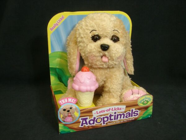 Cabbage Patch Kids Adoptimals Lots of Licks Puppy Dog CPK Plush NEW 2018 $16.99