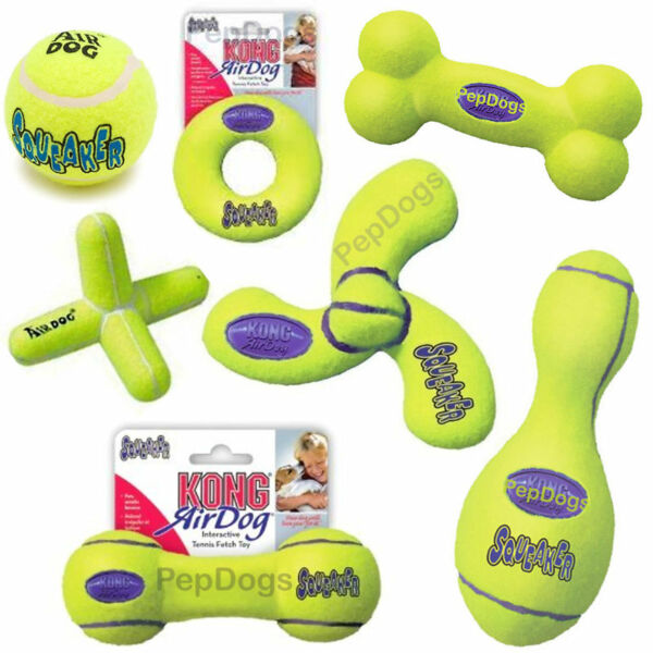 Air KONG SMALL  XS Dog Puppy Squeak Tennis Squeaky Toy $4.49