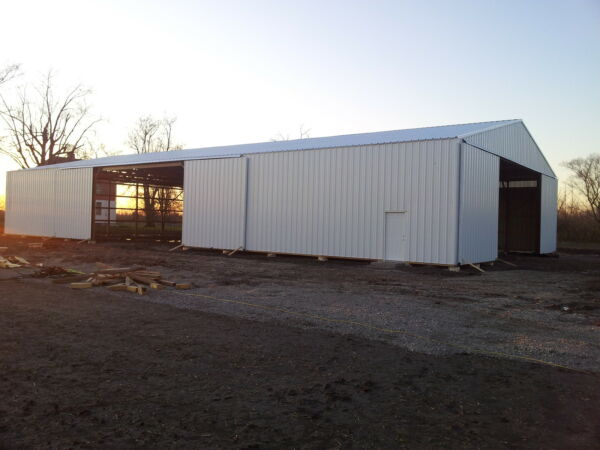 50x90x16 Farm Agricultural Post Building Pole Barn many sizes nationwide