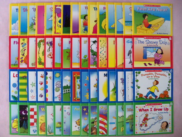 Kids Books Leveled Readers Lot 60