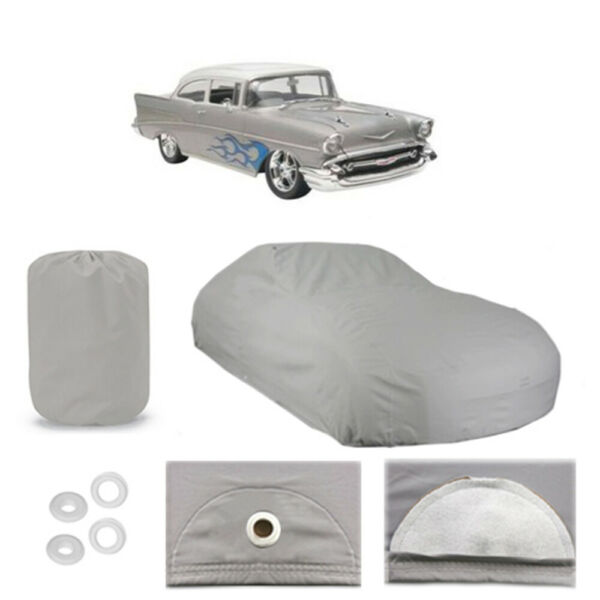 Chevy Bel Air Sedan 6 layer Car Cover Outdoor Water Proof Rain Snow Sun Dust