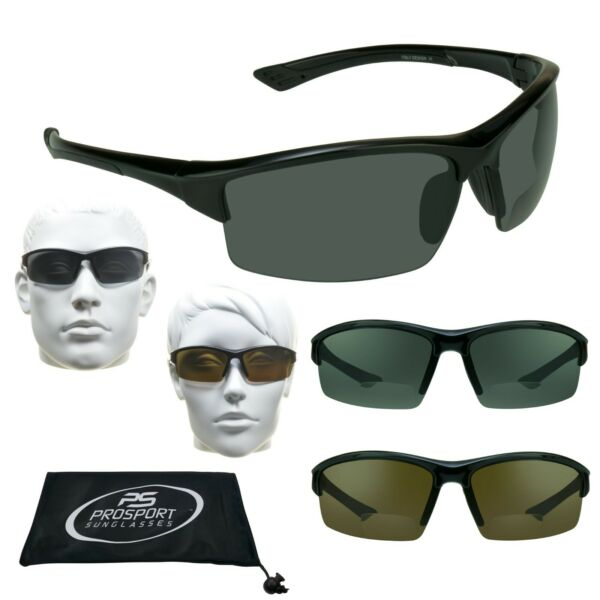 Polarized Reading Sunglass Bifocal sun glasses 1.5, 2.0, 2.5, 3.0 TR90 Frame