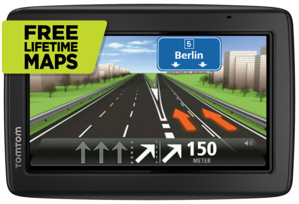 TomTom Start 25 M EU XXL GPS Europa 45 Navi 3D Map FREE Lifetime Maps Tap
