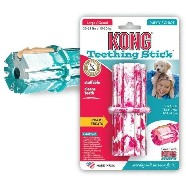 Dog Toy Kong PUPPY  SMALL Dog Puppy Chew Toys - Teething Sticks