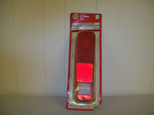 VINTAGE LEFT TAIL LIGHT 680-1190 FOR FORD VANS PICK UPS  BRONCOS 1974-1987